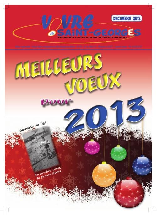Bulletin communal décembre 2012