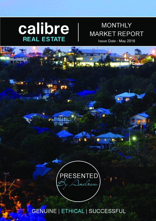 INNER WEST MARKET REPORT MAY 2016