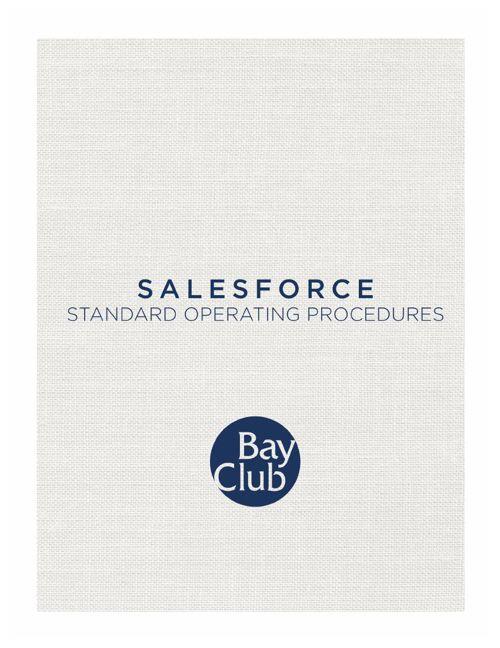 SalesForce Manual_01.28.15