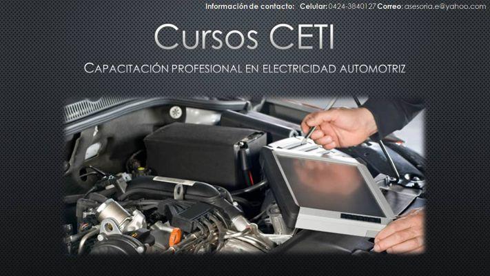 Cursos en Electricidad Automotriz