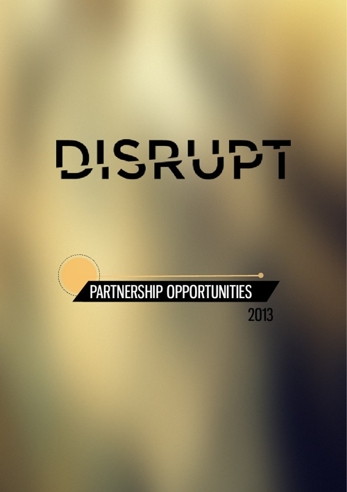 DISRUPT Partnership Prospectus