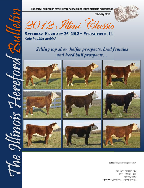Illinois Hereford Bulletin Winter 2012