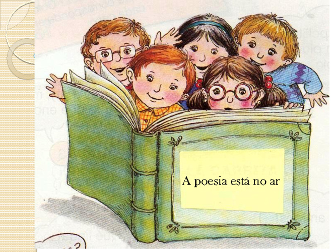 A poesia está no ar