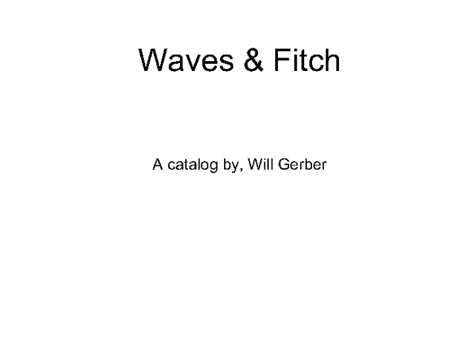 Waves & Fitch
