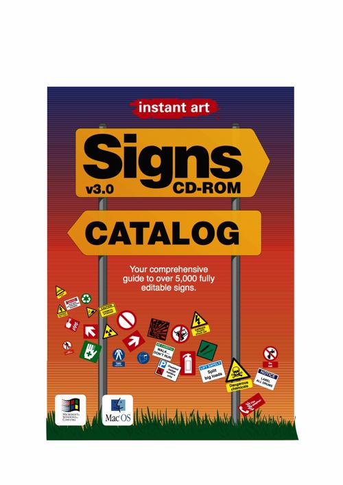 Signs v3.0 CD-ROM catalog