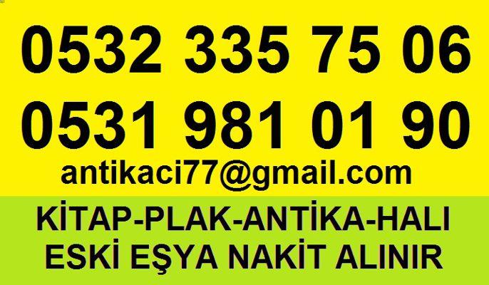 0546 227 32 54 Kaptanpaşa, Beyoğlu 2.el ESKİ KİTAP ALAN YERLER S