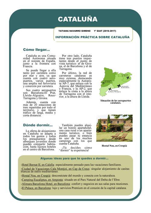 Cataluña info práctica