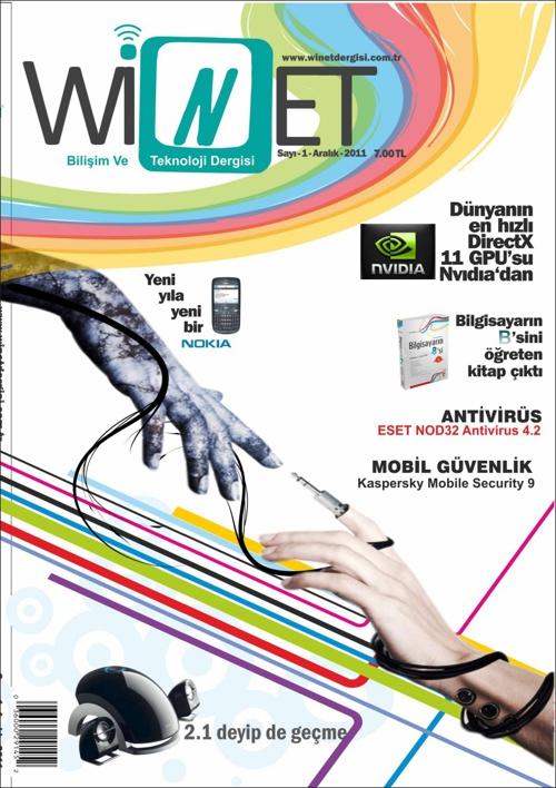 WİNET ( Bilişim ve teknoloji dergisi tasarımı)