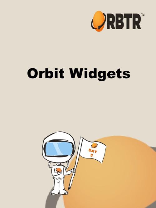 ORBTR Orbit Widgets