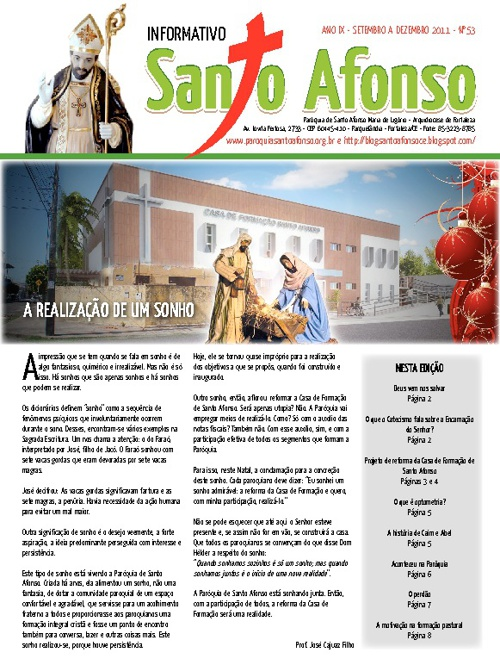 Informativo Santo Afonso 2011-3