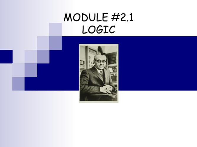 Formal Method: Logic Basic