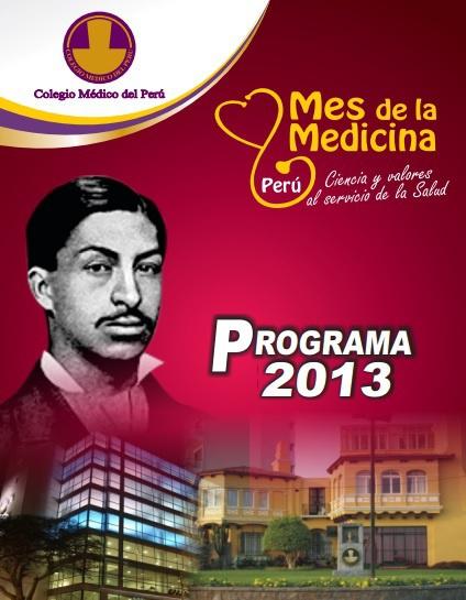 PROGRAMA DEL MES DE LA MEDICINA 2013