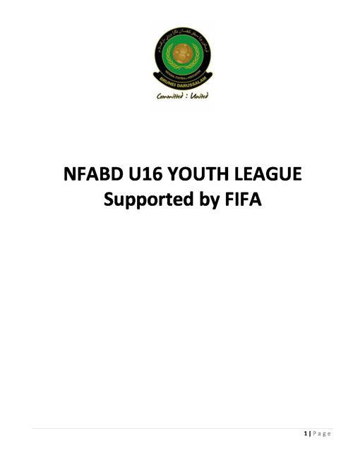 Rules and Regulations of NFABD U16