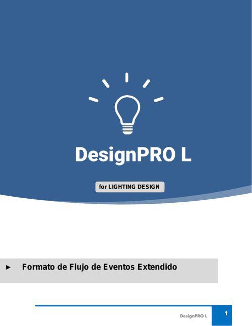 Flujo de Eventos Extendido DesignPROL L