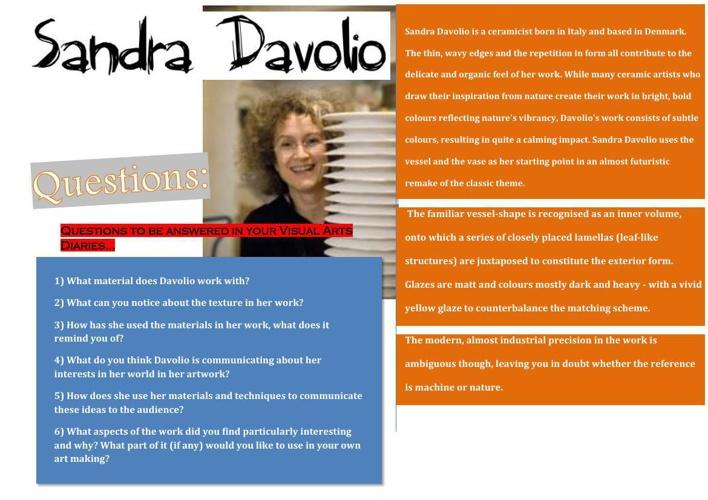 GROUP 5- Sandra Davolio