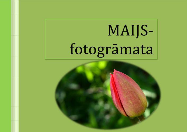 MAIJS fotogramata