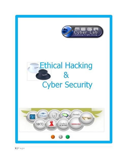 Advance Ethical Hacking Course offered by Megacyberlab