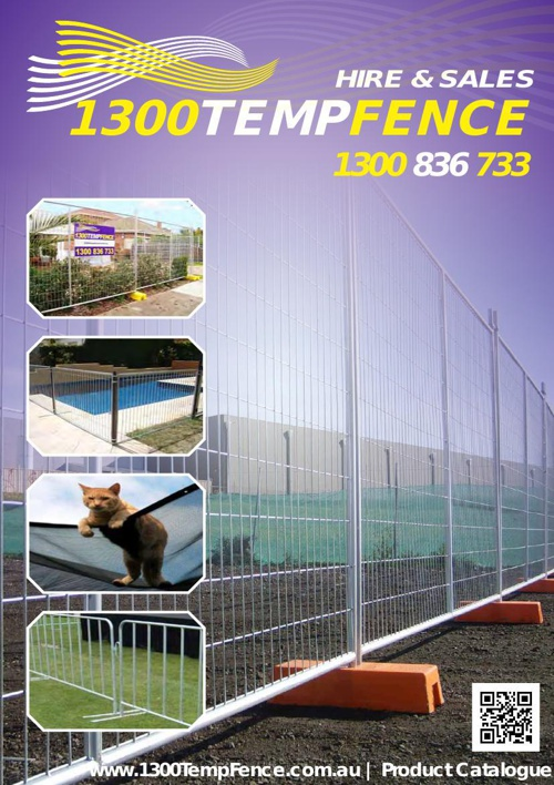 1300TempFence Catalogue