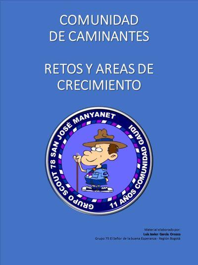 RETOS Y AREAS DE CRECIMIENTO - CAMINANTES