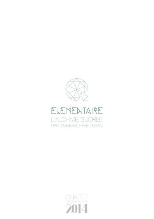 ELEMENTAIRE - L'ALCHIMIE SUCREE / Charte Graphique V1