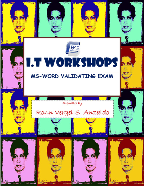 MS-WORD VALIDATING EXAM