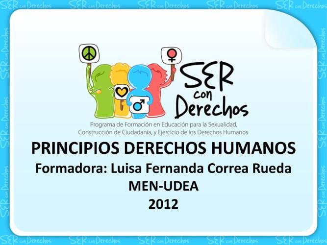 Principios Derechos Humanos