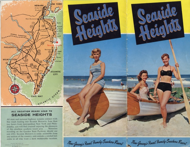 Vintage Seaside Heights Brochure #3