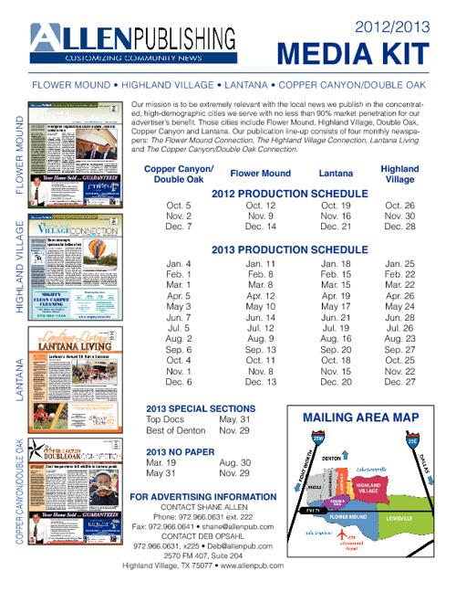2012 - 2013 Media Kit