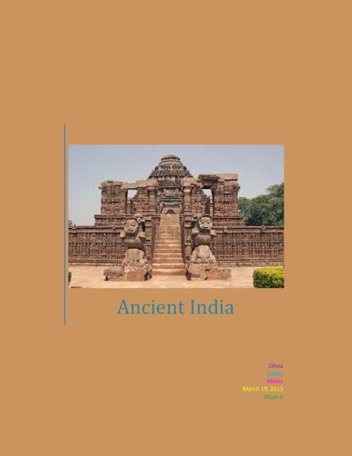 Ancient India: Abbey, Cabby, Olivia
