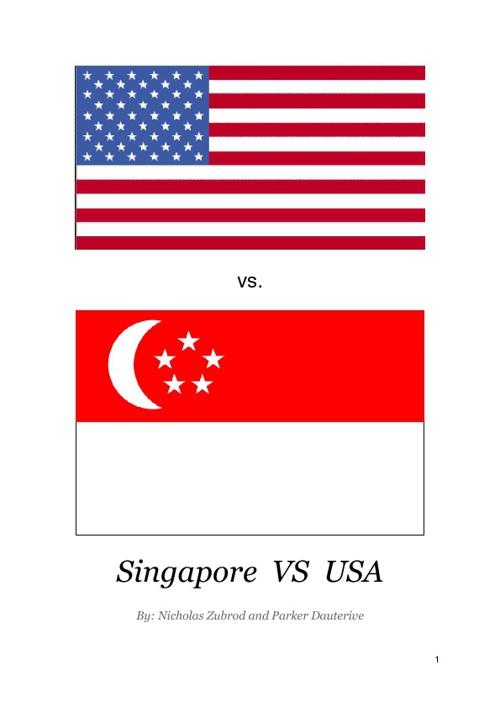 Nicholas & Parker - USA vs. Singapore