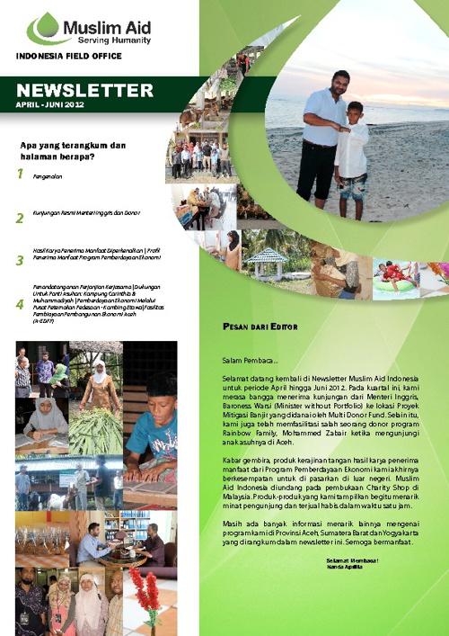 MAI Newsletter Apr-Jun 2012 - Bahasa