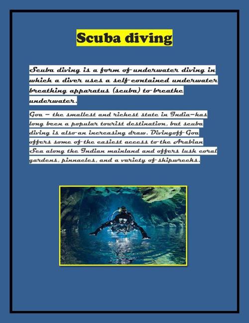 Scuba diving abhi