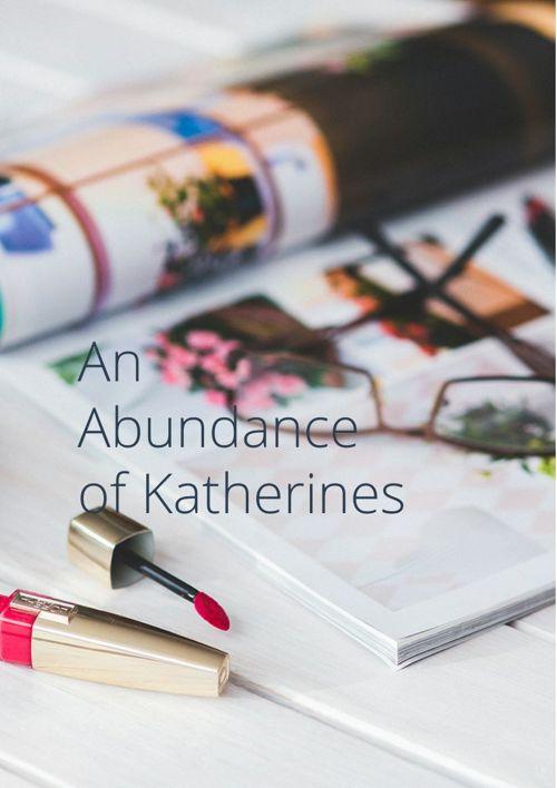 The abundance of katherines