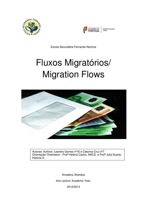 Fluxos migratórios de Portugal