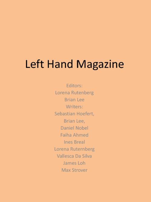 Left Hand Magazine
