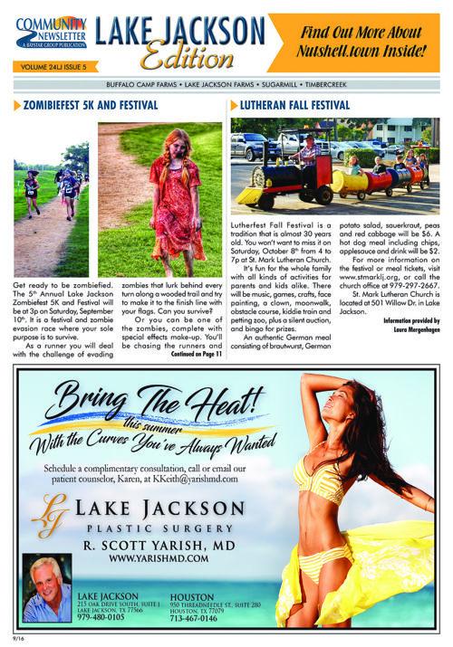 Lake Jackson Community Newsletter Volume 24 Issue 5