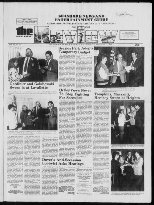 Review January 1988