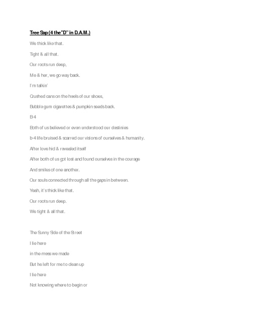Selected Poems of Mo'Kha Uzuri
