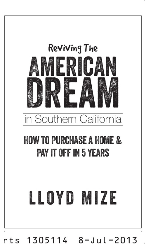 'Reviving The American Dream'
