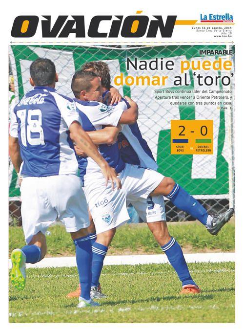Deportes 31-08-2015