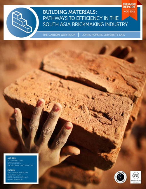 Pathways to Efficiency in the South Asia Brickmaking Industry
