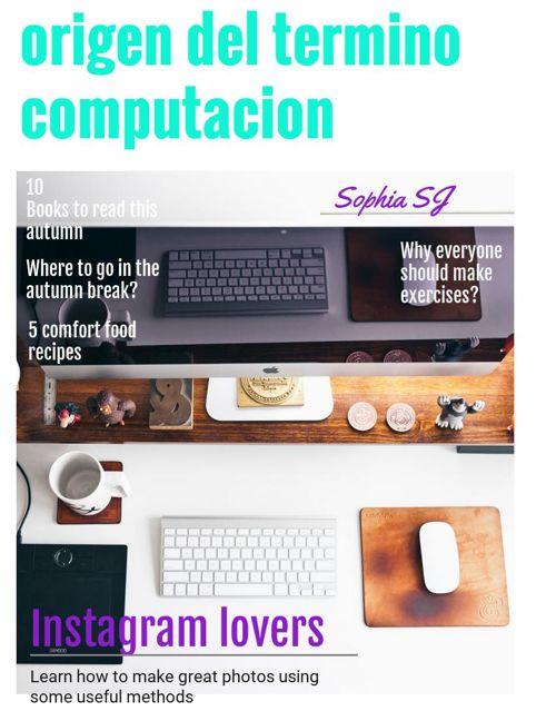 origen del termino computacion