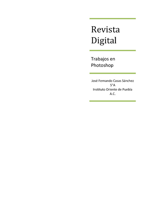 Revista Digital 5A