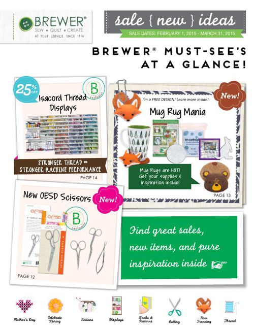 February-March 2015 Sales Flyer
