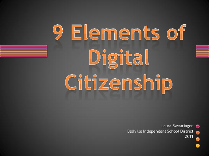Digital Citizenship for BISD