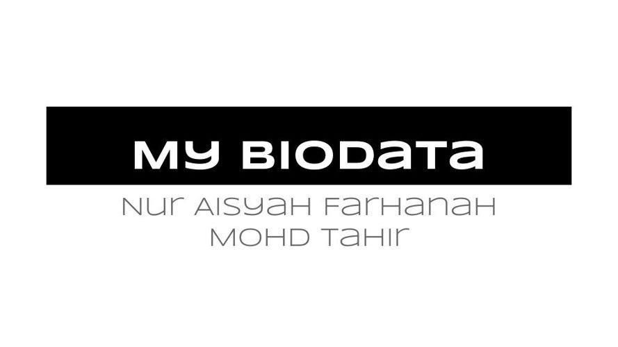 My Biodata (1)