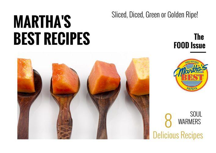 Martha's Best Papaya Recipe Book