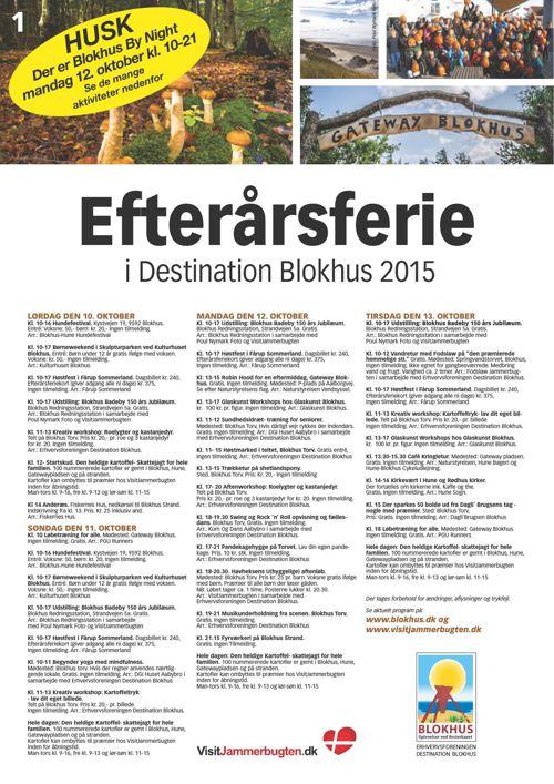 Efterårsferie Destination Blokhus 2015