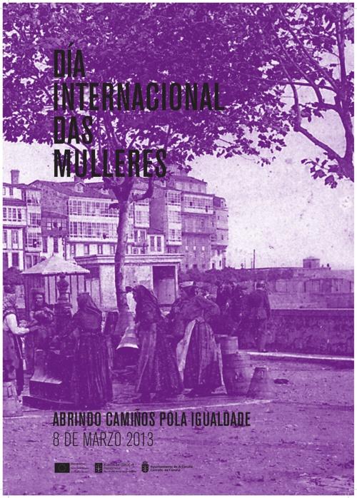 Cartel y programa de actos del Día Internacional de la Mujer