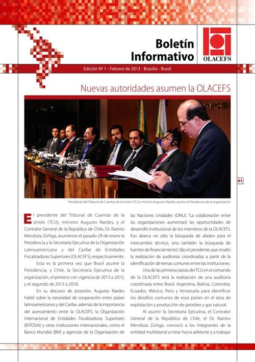 Boletín de la OLACEFS - Febrero de 2013